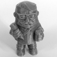 "Small ""The Designer"" from the World of Makers series 3D Printing 883"