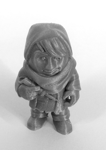"""The Hacker"" from the World of Makers series 3D Print 884"