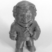 "Small ""The Engineer"" from the World of Makers series 3D Printing 885"