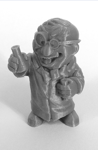 """The Chemist"" from the World of Makers series 3D Print 886"