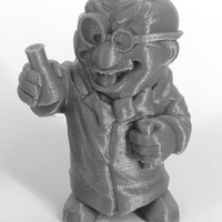 "Small ""The Chemist"" from the World of Makers series 3D Printing 886"