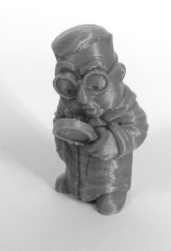 """The Researcher"" from the World of Makers series 3D Print 887"
