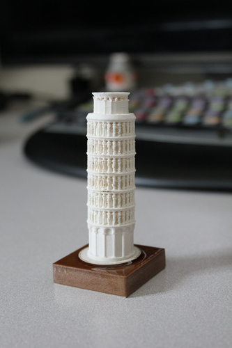 The Leaning Tower of Pisa 3D Print 8890