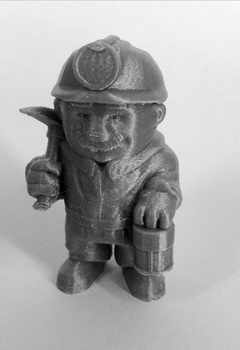 """The Miner"" from the World of Makers series 3D Print 890"