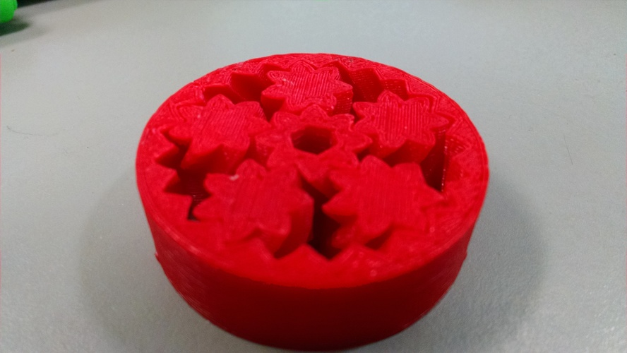 150mm 15 planet gear bearing with holes 3D Print 8983