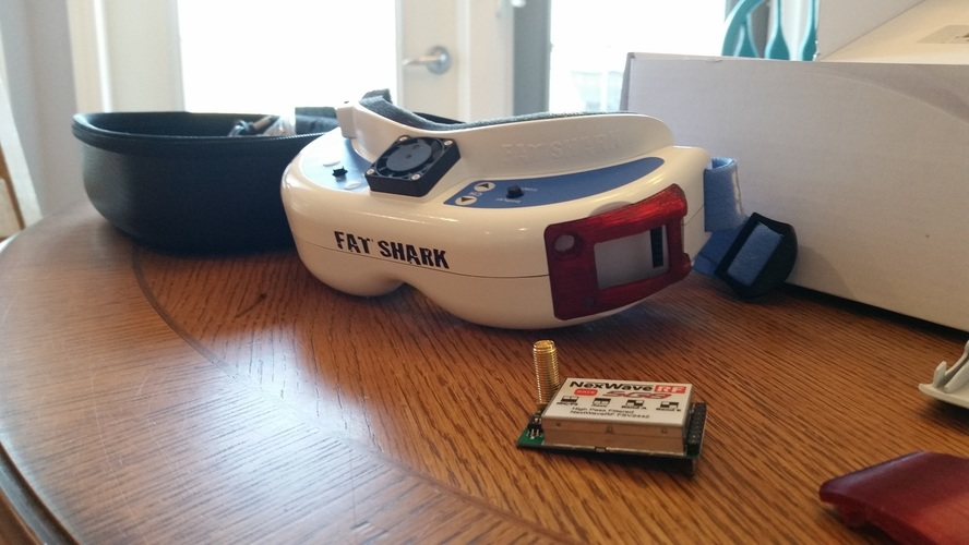 AG Fatshark Dominator Module Doors (LaForge and stock) 3D Print 8998