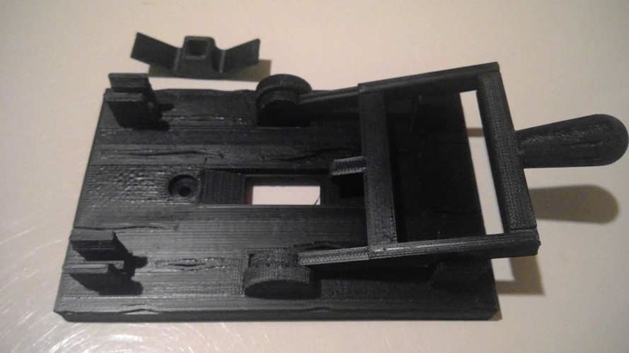 Reprint of Frankenstein Light Switch Plate from LoboCNC 3D Print 9010