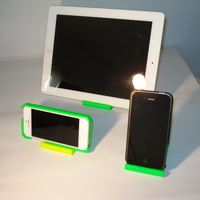 Small iPhone and iPad stand-REV. 2 3D Printing 9025