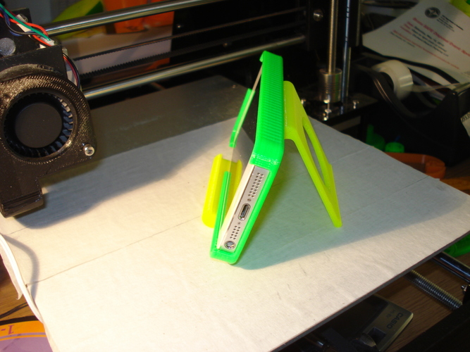 iPhone and iPad stand-REV. 2 3D Print 9029