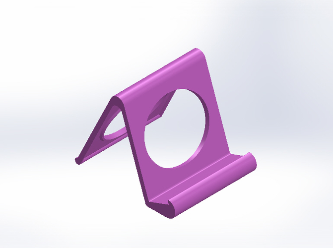 iPhone and iPad stand-REV. 2 3D Print 9031