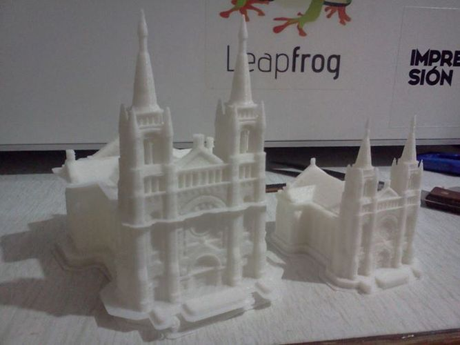 Sioux Falls Cathedral, South Dakota 3D Print 904