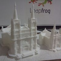 Small Sioux Falls Cathedral, South Dakota 3D Printing 904