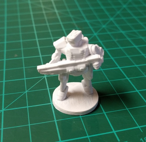 C-Series Cyclops Automated Militia (18mm scale) 3D Print 9057