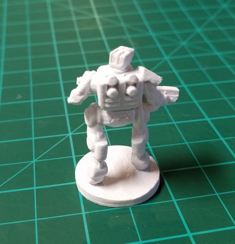 C-Series Cyclops Automated Militia (18mm scale) 3D Print 9058