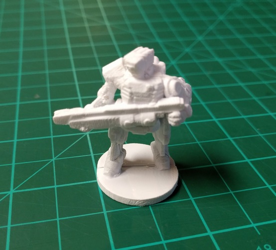 C-Series Cyclops Automated Militia (18mm scale) 3D Print 9059