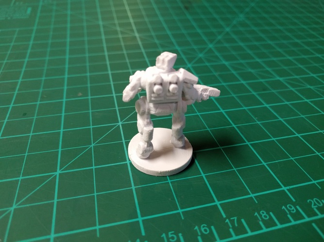 C-Series Cyclops Automated Militia (18mm scale) 3D Print 9060