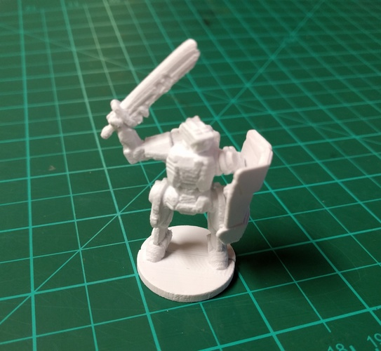 C-Series Cyclops Automated Militia (18mm scale) 3D Print 9061
