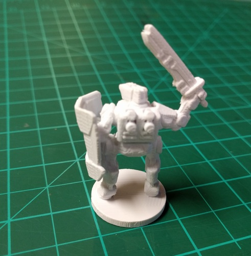 C-Series Cyclops Automated Militia (18mm scale) 3D Print 9062
