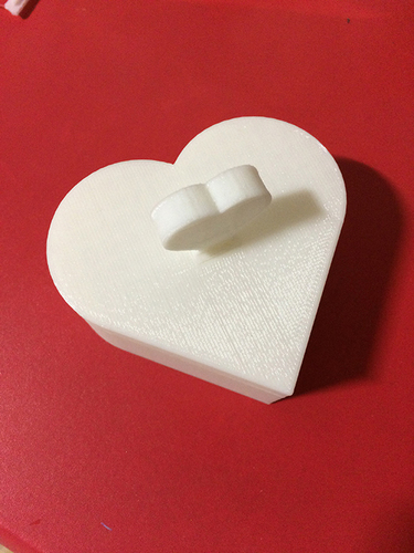 Heart Jewelry box V1.5 (updated) 3D Print 9076