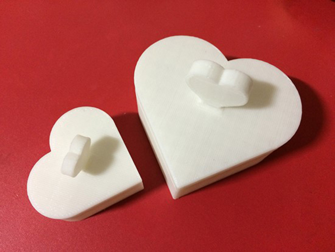 Heart Jewelry box V1.5 (updated) 3D Print 9077