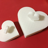 Small Heart Jewelry box V1.5 (updated) 3D Printing 9077