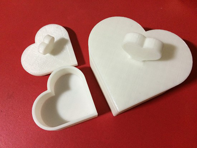 Heart Jewelry box V1.5 (updated) 3D Print 9078