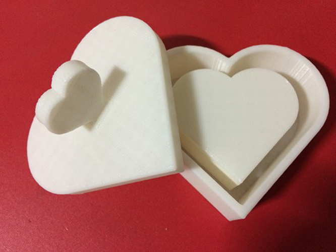 Heart Jewelry box V1.5 (updated) 3D Print 9079