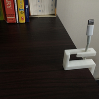Small Charger wire holder 3D Printing 9084