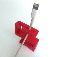 Small Charger wire holder 3D Printing 9085