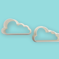 Small Cloud cookie-cutter 3D Printing 9086