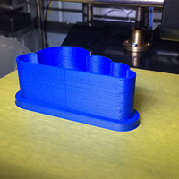 Small Cloud cookie-cutter 3D Printing 9087