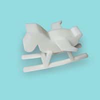 Small Rocking horse 3D Printing 9101