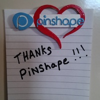 Small Pinshape loves you! 3D Printing 9158