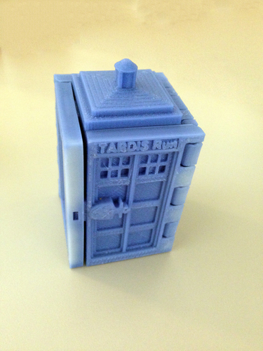 TARDIS Run board game Print-In-One 3D Print 9163