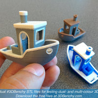 Small #3DBenchy - The jolly 3D printing torture-test 3D Printing 917