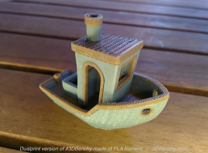 #3DBenchy - The jolly 3D printing torture-test 3D Print 921