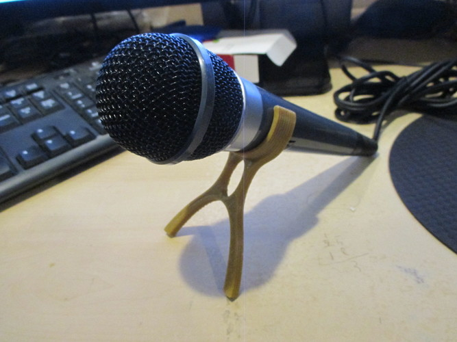 Microphone Stand 3D Print 9243