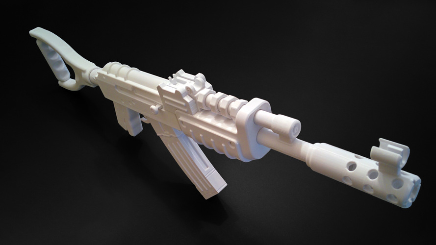 AK47 from Rust 3D Print 9284