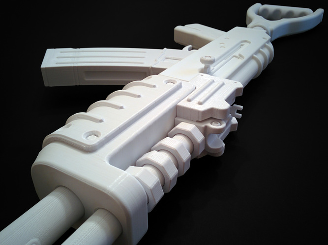AK47 from Rust 3D Print 9286