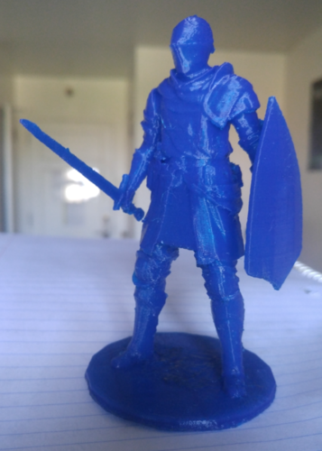 Elite Knight - Dark souls 3D Print 9298