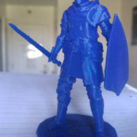 Small Elite Knight - Dark souls 3D Printing 9298