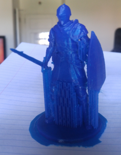 Elite Knight - Dark souls 3D Print 9299