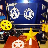 Small Euro christmas tree ornaments 3D Printing 9318