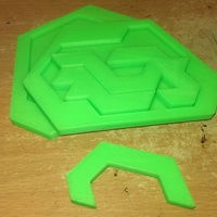 Small Puzzle of Evil 3D Printing 9335