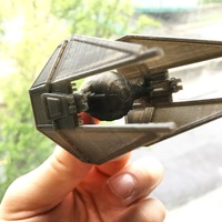 Small Tie-Interceptor 3D Printing 9340