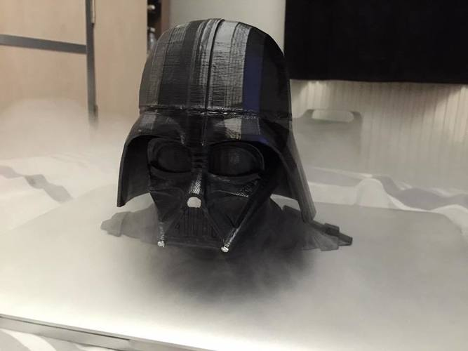 Darth Vader bust - Easy print 3D Print 9350