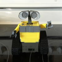 Small WALL-e  ( cut into parts ) 3D Printing 9406