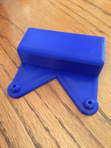 Monitor stand PC VESA Mount (Steambox style PC) 3D Print 9484