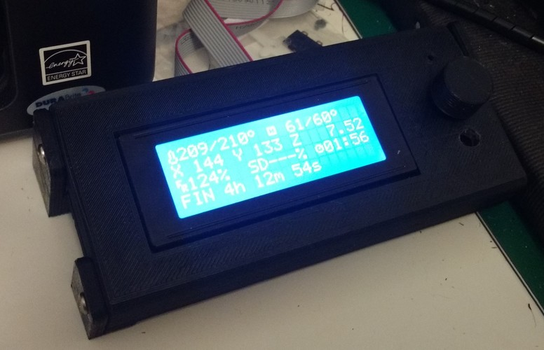 Smart LCD Case Stand Alone version 3D Print 9533