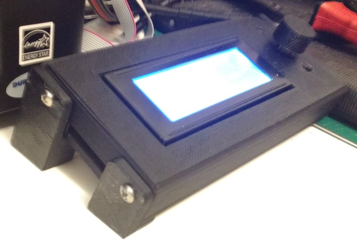 Smart LCD Case Stand Alone version 3D Print 9534
